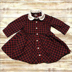 Ralph Lauren baby girl checkered dress